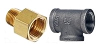 Fittings, Brass & Iron Pipe